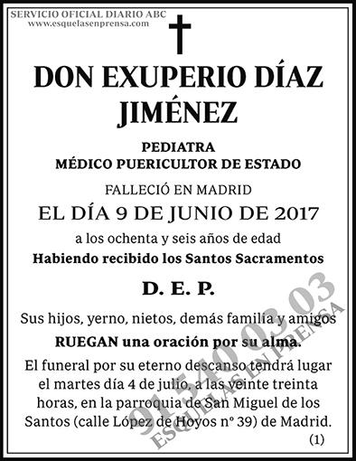 Exuperio Díaz Jiménez